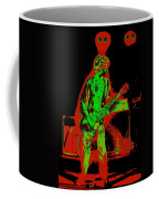 Red Rocker In Spokane In 1977 With Space Friends Coffee Mug