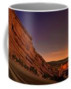 Red Rocks Amphitheatre At Night Coffee Mug