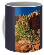 Red Rocks And Tree 1 Coffee Mug