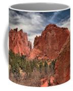 Red Rocks At Garden Of The Gods Coffee Mug