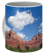 Red Rocks In Sedona Arizona Coffee Mug