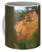 Red Rocks Of Roussillon Coffee Mug