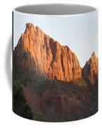 Red Rocks Of Zion Park Coffee Mug