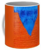 Red Rocks Original Painting Coffee Mug