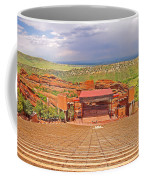 Red Rocks Park Amphitheater - Centered View Coffee Mug