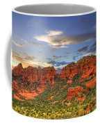 Red Rocks Sunset Coffee Mug