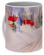 Red Roofs Coffee Mug