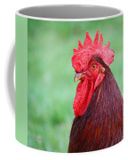Red Rooster Portrait Coffee Mug