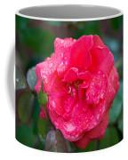 Savannah Ga Red Rose After A Rain Coffee Mug