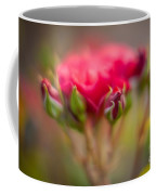 Red Rose Flourish Coffee Mug