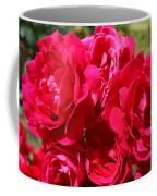 Red Rose Garden Art Prints Roses Coffee Mug