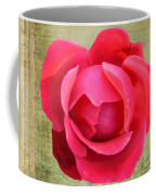 Red Rose Of Love Coffee Mug