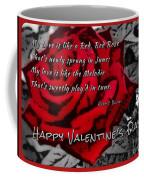 Red Rose Valentine Coffee Mug