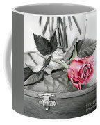 Red Rosebud Coffee Mug