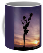 Red Roses At Sunset Coffee Mug