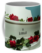 Red Roses On The Grand Piano Coffee Mug