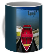 Red Rowboat Coffee Mug