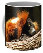 Red Ruffed Lemur Coffee Mug