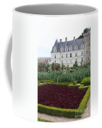 Red Salad And Cabbage Garden - Chateau Villandry Coffee Mug
