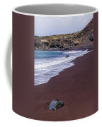 Red Sand Beach Coffee Mug