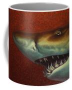 Red Sea Shark Coffee Mug by James W Johnson