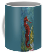 Red Seahorse - Sold Coffee Mug