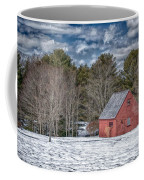 Red Shed In Maine Coffee Mug