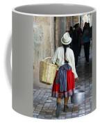 Red Skirted Woman Of Cuenca Coffee Mug