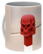 Red Skull Coffee Mug