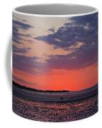 Red Sky At Sword Beach Coffee Mug