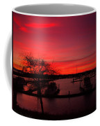 Red Sky In The Morning Two Coffee Mug