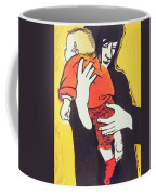 Red Sock Coffee Mug by Carol Walklin