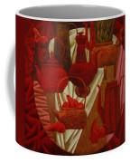 Red Still Life Coffee Mug