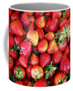 Red Strawberries Coffee Mug