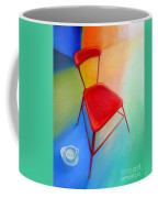 Red Studio Chair Coffee Mug