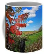 Red Sumac Field Coffee Mug