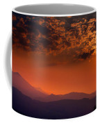 Red Sumer Sunset Coffee Mug