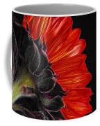 Red Sunflower Vii  Coffee Mug