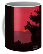 Red - Sunset Coffee Mug