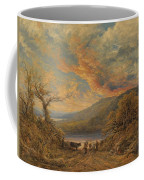 Red Sunset Coffee Mug