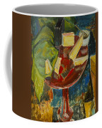 Red Table Top Still Life Coffee Mug