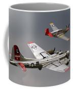 Red Tail Escort Coffee Mug