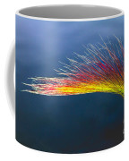 Red Tipped Grass Coffee Mug by Robert Bales