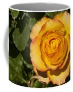 Red-tipped Yellow-orange Rose Coffee Mug
