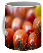 Red Tomatoes At The Market Coffee Mug by Heather Applegate