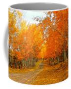 Red Tree Rd Coffee Mug