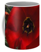 Red Tulip Pair Coffee Mug