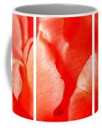 Red Tulip Up Close Trio Sample Coffee Mug