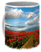 Red Tulips Of Skagit Valley Coffee Mug