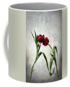 Red Tulips On A Letter Coffee Mug